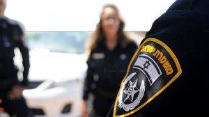 שוטרים בצילום מטושטש, צילום: משטרת ישראל, אילוסטרציה