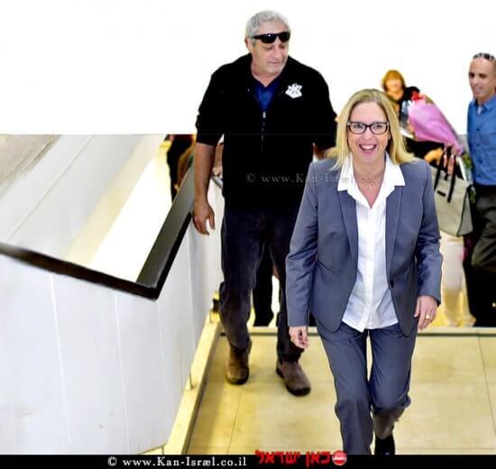 הגר פרי יגור נכנסה היום לתפקידה כראש מועצת פרדס חנה כרכור | עיבוד צילום: שולי סונגו