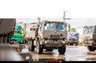 """צהל יקלוט כ-100 משאיות מסוג FMTV המשאיות שיחליפו את משאיות ה""""ריאו"""" שנמצאות בשימוש כבר למעלה מ-45 שנים   צילום: דוץ"""