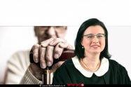 כב' השופטת עינת אלפסי מבית משפט לענייני משפחה בשלום באשדוד | רקע: ניצולת שואה, אילוסטרציה | עיבוד שולי סונגו