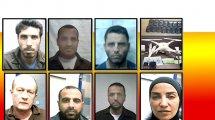 החשודים בניסיון ההברחה טלפונים סלולריים לבתי-כלא בהם שוהים פלסטינים השפוטים על טרור והסתות לטרור | צילום: תקשורת שבכ | עיבוד צילום: שולי סונגו