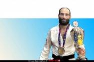 הג'ודקא אלון רחימא, קפטן נבחרת ישראל בג'ודו שהודיע על פרישתו | צילום: איגוד הג'ודו | עיבוד צילום: שולי סונגו