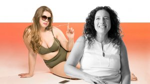 דר' אסנת רזיאל – מנתחת בריאטרית, תזונאית בכירה ודיאטנית ברקע: אישה שמנה