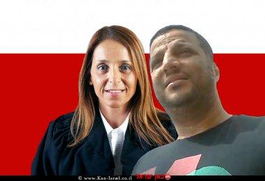 אריאל ברוכים הנאשם ב'פרשת עוקץ של אינסטלטורים' כבוד שופטת דנה אמיר מבית משפט השלום תל-אביב |עיבוד צילום:שולי סונגו