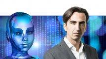 אלי שקד, מנהל פעילות VMware ישראל | ברקע: בינה מלאכותית | עיבוד צילום: שולי סונגו