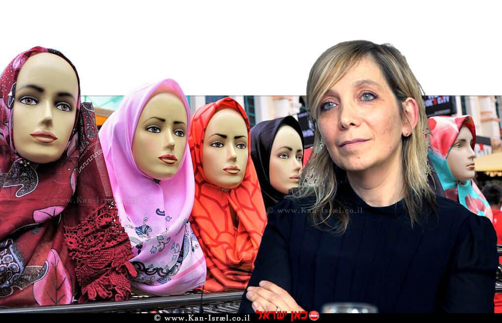 עורכת דין אמי פלמור מנכלית משרד המשפטים | רקע: נשים לציון יום האישה הבין לאומי | עיבוד צילום: שולי סונגו