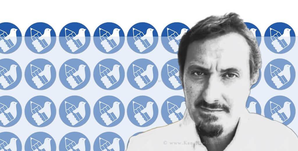 אילן אסאיג, פוטוג'ורנליסט ברקע: לוגו מועצת העיתונות בישראל | צילום: רוני כהן | עיבוד צילום: שולי סונגו