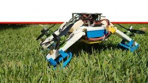 רובוט-רחפן Flying STAR חדש המנווט דרכו בתעופה ונסיעה משולבת שבנו חוקרים מאוניברסיטת בן-גוריון | צילום: אוניברסיטת בן-גוריון בנגב