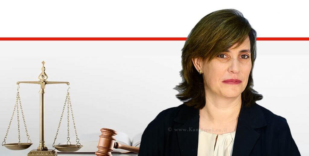 רחל מטר-סקופסקי, נבחרה למנהלת המחלקה הפלילית בפרקליטות המדינה  עיבוד צילום: שולי סונגו ©