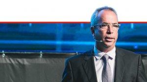 אבנר זיו, מנהל חטיבת הטכנולוגיה, בנק ישראל בכנס FinTech Junction 2019 בהפקת 'קבוצת אנשים ומחשבים' | צילם: TomerFoltyn | עיבוד צילום: שולי סונגו ©