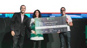 חברת הסטארט-אפ הבריטית Untied הזוכה בכנס Fintech Junction 2019 בהפקת 'אנשים ומחשבים' | צילום: TomerFoltyn |עיבוד צילום: שולי סונגו ©