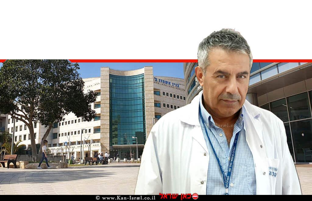 דר' סייף אבו מוך מנהל מחלקה פנימית ב' של המרכז הרפואי הלל יפה בעיר חדרה | עיבוד צילום: שולי סונגו ©