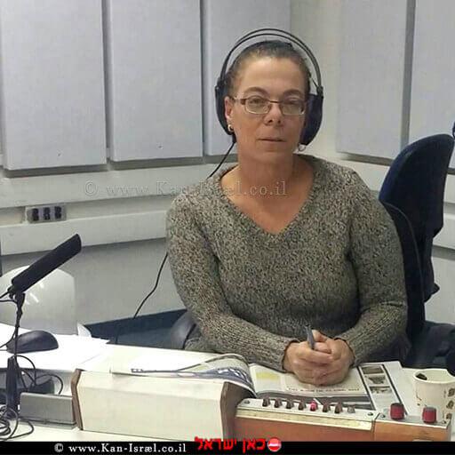 אסתי פרז עיתונאית ומגישה ברדיו כאן רשת ב