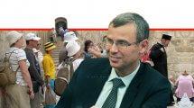 שר התיירות, יריב לוין: ברקע כניסות תיירים לישראל | עיבוד צילום: שולי סונגו ©