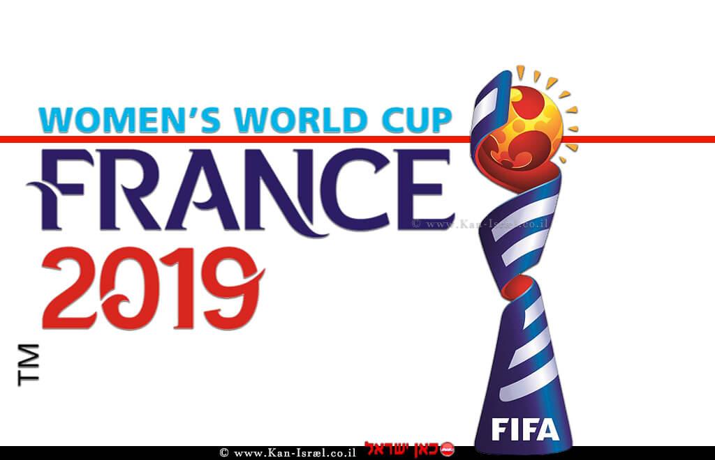 לוגו מונדיאל הנשים 2019, משחקי גביע העולם בכדורגל נשים 2019 בצרפת| עיבוד: שולי סונגו