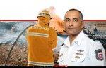 דדי שמחי, רב טפסר נציב כבאות והצלה לישראל | רקע: איש כיבוי בפעולה|עיבוד צילום: שולי סונגו ©