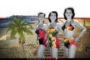 הדוגמניות של לאה גוטליב מייסדת מפעל בגדי הים 'גוטקס' |עיבוד צילום: שולי סונגו ©