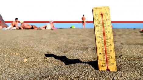 מזג אוויר חם מאד עם טמפרטורות גבוהות במיוחד יפקוד את ישראל |עיבוד צילום: שולי סונגו ©
