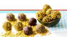 טראפלס שוקולד אבוקדו טבעוני | צילום: הדס ניצן | עיבוד צילום: שולי סונגו ©