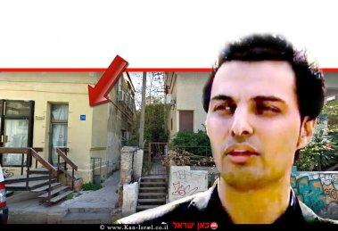 ניר סנדלר סוכן הדוגמנות | צילום מסך ערוץ 12 | רקע: משרד הסוכנות; 'Passion Management' ברחוב מוהליבר 30 בעיר תל אביב | עיבוד צילום ממחושב: שולי סונגו©