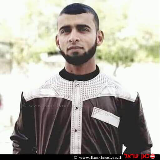 האני אבו סלאח המחבל שנהרג הלילה בגבול עזה הוא מהזרוע הצבאית של חמאס | עיבוד צילום: שולי סונגו ©