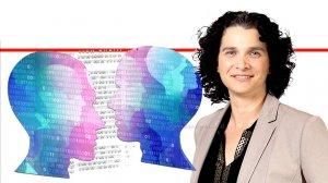 פרופ' קרין נהון, נשיאת איגוד האינטרנט הישראלי ברקע טכנולוגיית ה-DeepFake | עיבוד שולי סונגו ©