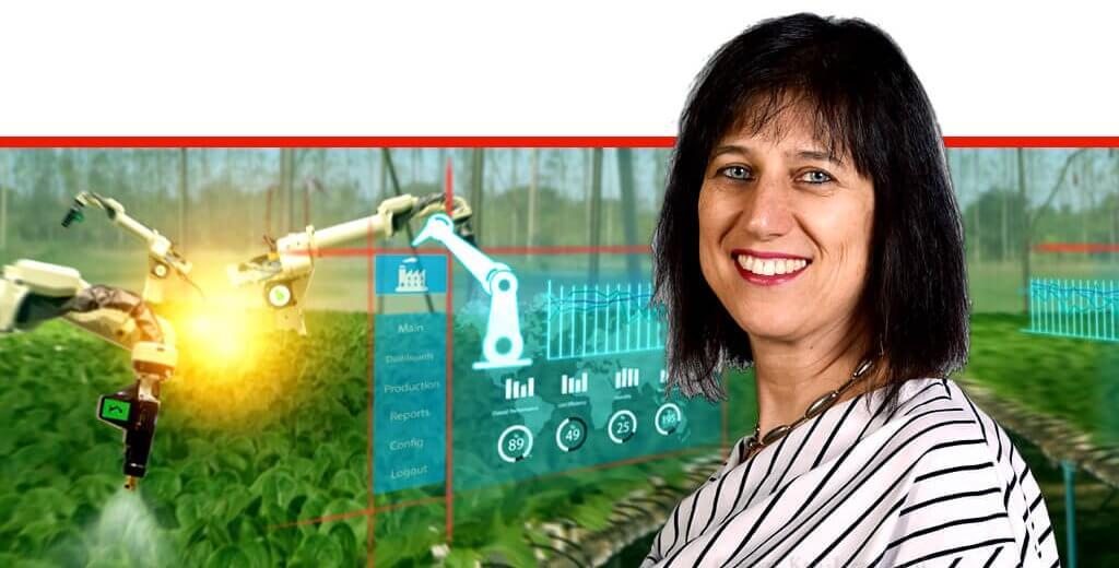 דר' מיכל לוי סמנכל בכיר למינוף המחקר ופיתוח החקלאי והחדשנות במשרד החקלאות ופיתוח הכפר |עיבוד ממחושב: שולי סונגו©