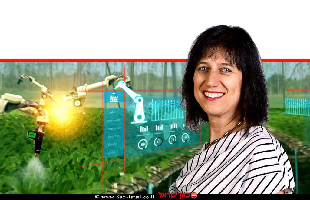דר' מיכל לוי סמנכל בכיר למינוף המחקר ופיתוח החקלאי והחדשנות במשרד החקלאות ופיתוח הכפר  צילום: ידידה בגריש   עיבוד ממחושב: שולי סונגו©