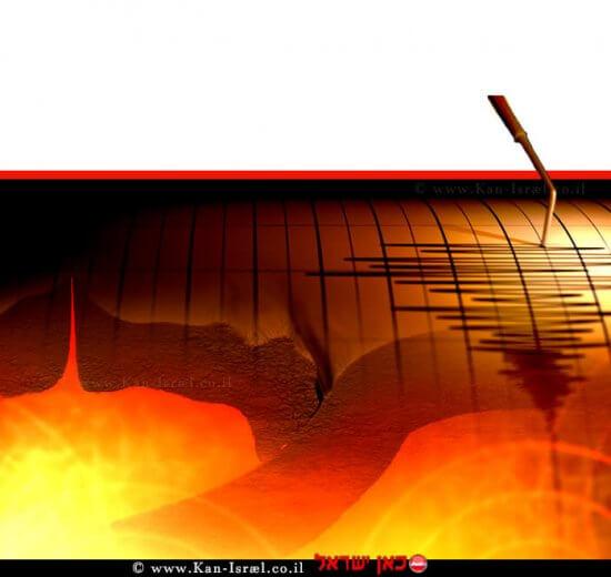 סייסמוגרף רעידת אדמה | עיבוד ממחושב: שולי סונגו©