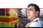 אלי בין מנכל מגן דוד אדום שהורה על החלפת צליל הסירנה | רקע: אמבולנס של אזור חבל לכיש |עיבוד ממחושב: שולי סונגו©