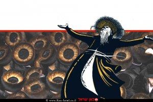 תנועת החסידות סדרה דוקומנטרית 'מלכויות של מטה' ב-ערוץ כאן 11 | עיבוד ממחושב: שולי סונגו©