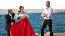 משתתפי הצגת ריגולטו מאת ג'וזפה ורדי של האופרה הירושלמית | צילום: אילן ספירא | עיבוד ממחושב: שולי סונגו©