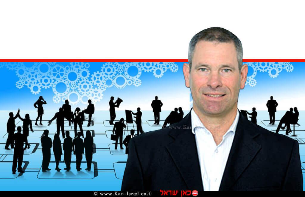 ירון רייכמן, מנכל ברית פיקוח MBT ב-ועידה כלכלית תום שנת 2019 | צילום: התנועה הקיבוצית | עיבוד ממחושב: שולי סונגו©