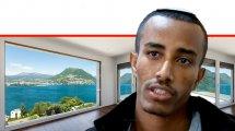 עמיחי פנטה, מקהילת יהודי אתיופיה | ברקע: צימר | צילום מסך ערוץ 12 | צילום: depositphotos | עיבוד ממחושב: שולי סונגו©
