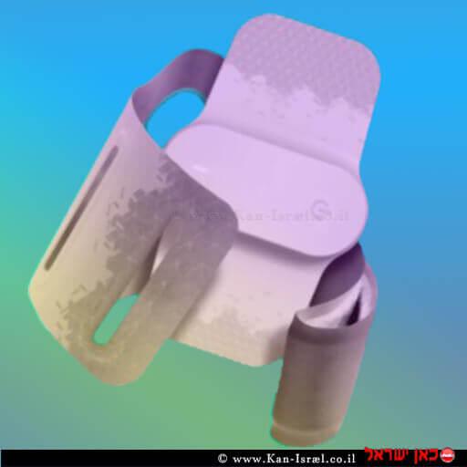 המכשיר שמטפל במיגרנות Theranica Nerivio-Migra-e1575981350378 | עיבוד ממחושב: שולי סונגו©