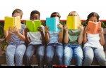 ילדים מכל בני העמים קוראים ספרים |עיבוד ממחושב: שולי סונגו©