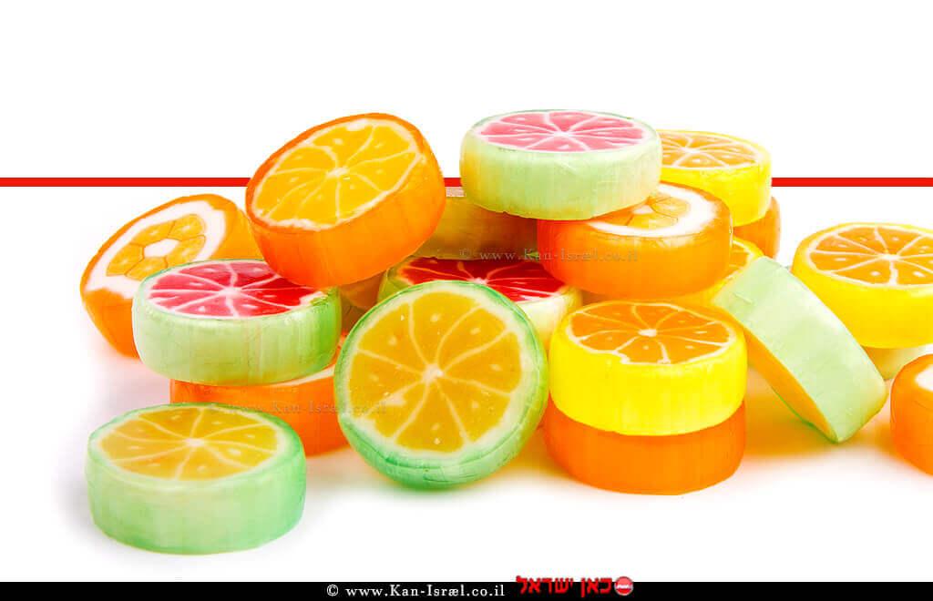 סוכריות מקליפות פרי הדר | עיבוד ממחושב: שולי סונגו©