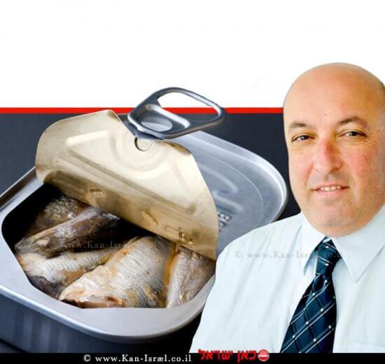 פרופסור איתמר גרוטו משנה למנכל משרד הבריאות ברקע: מזון מעובד וגם בריא | עיבוד ממחושב: שולי סונגו©