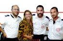 חנה סמבורסקי, מבאר שבע שהוכרזה מתה קלינית וצוות מדא שהציל את חייה | צילום: דוברות מדא | עיבוד ממחושב: שולי סונגו©