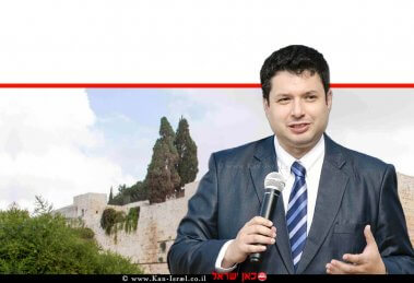 ג'וש ריינשטיין נשיא שדולת הפרלמנטרים למען ישראל (IAF) ג'וש ריינשטיין , ברקע: ירושלים  עיבוד ממחושב: שולי סונגו©