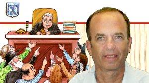 כב' השופט בדימוס דר' אברהם טננבוים, ברקע ספרו החדש על שופטים וגלגלים מעולמו של שופט תעבורה | עיבוד ממחושב: שולי סונגו©