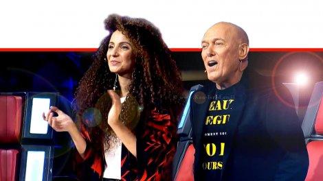 הזמר שלומי שבת עם הזמרת יובל דיין   צילום מסך: ערוץ 13   עיבוד ממחושב: שולי סונגו©