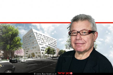 דניאל לִיבֶּסְקִינְד, האדריכל המזוהה עם זרם הדה-קונסטרוקטיביזם אורחהאקדמיה הלאומית למדעים   עיבוד ממחושב: שולי סונגו©