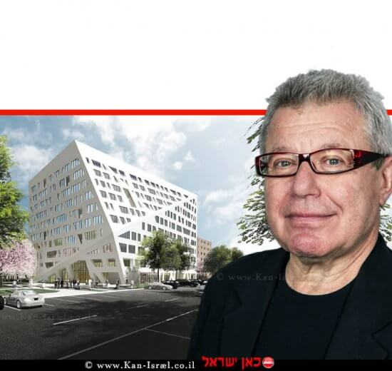 דניאל לִיבֶּסְקִינְד, האדריכל המזוהה עם זרם הדה-קונסטרוקטיביזם אורחהאקדמיה הלאומית למדעים | עיבוד ממחושב: שולי סונגו©