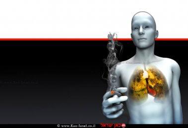 עישון הורג, סרטן הריאה | עיבוד ממחושב: שולי סונגו©