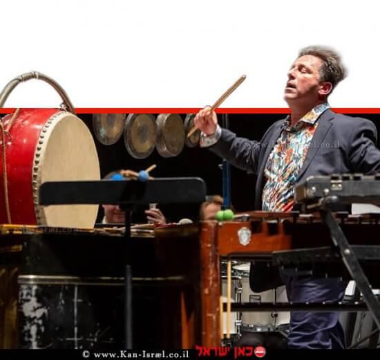 חן צימבליסטה מנצח ואמן כלי ההקשה משמש כמנצח ומנהל מוסיקלי בסדרות מוסיקה | צילום: אנג'ילקה שר |עיבוד ממחושב: שולי סונגו©