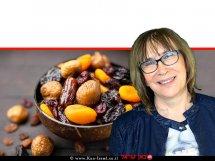 דר' אולגה רז, דיאטנית קלינית המומחית לדיאטות ותזונה נכונה על אכילת פירות יבשים, הטוב והרע  עיבוד ממחושב: שולי סונגו©