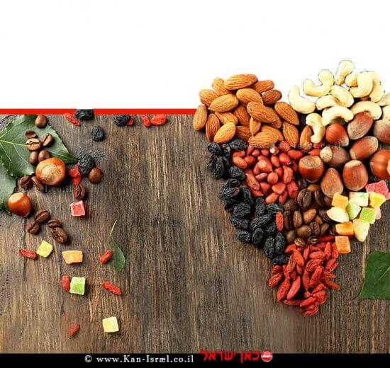 פיצוחים ופירות מיובשים | צילום: depositphotos.com | עיבוד ממחושב: שולי סונגו©