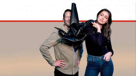 הבדרן גורי אלפי והמנחה לוסי איוב יופיעו בתקופת הקורונה בתכנית אירוח חדשה בערוץ כאן 11 | עיבוד צילום ממחושב: שולי סונגו©
