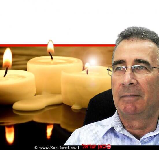 יעקב וכטל, הממונה על התקינה במשרד הכלכלה והתעשייה, ברקע: נרות נשמה | עיבוד ממחושב: שולי סונגו©